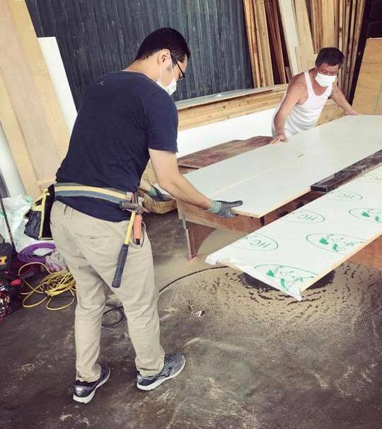 鋸木板日常