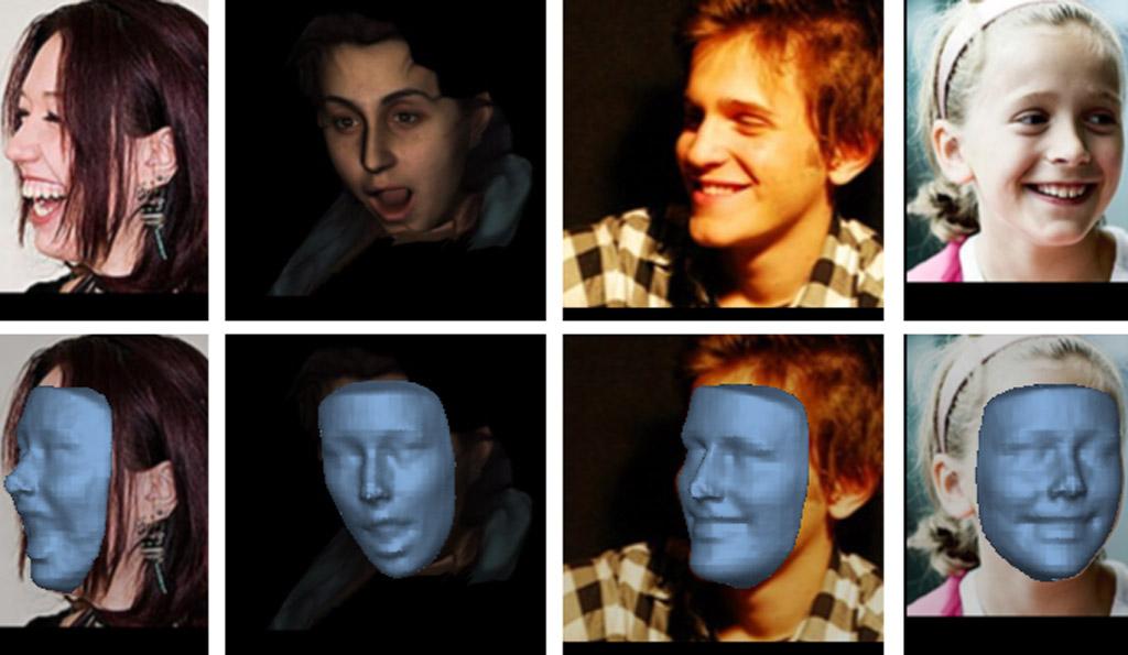 新的AI算法可以將任何2D圖像的臉部轉換為3D模型