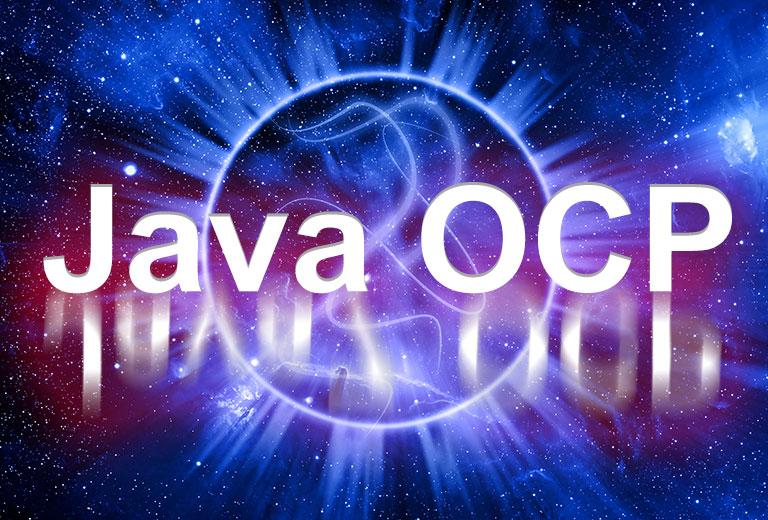 Java OCP JP程式設計認證